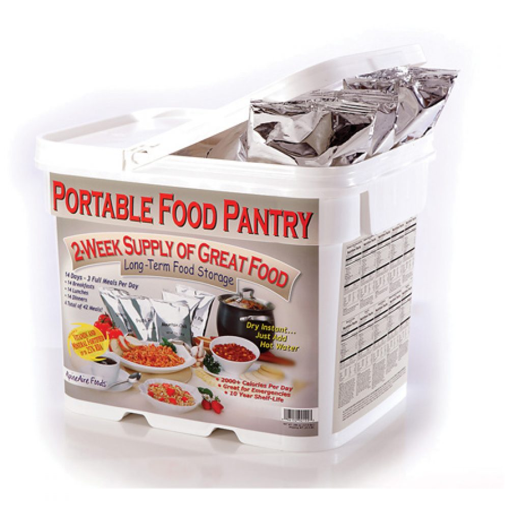 14 Day Portable Food Pantry