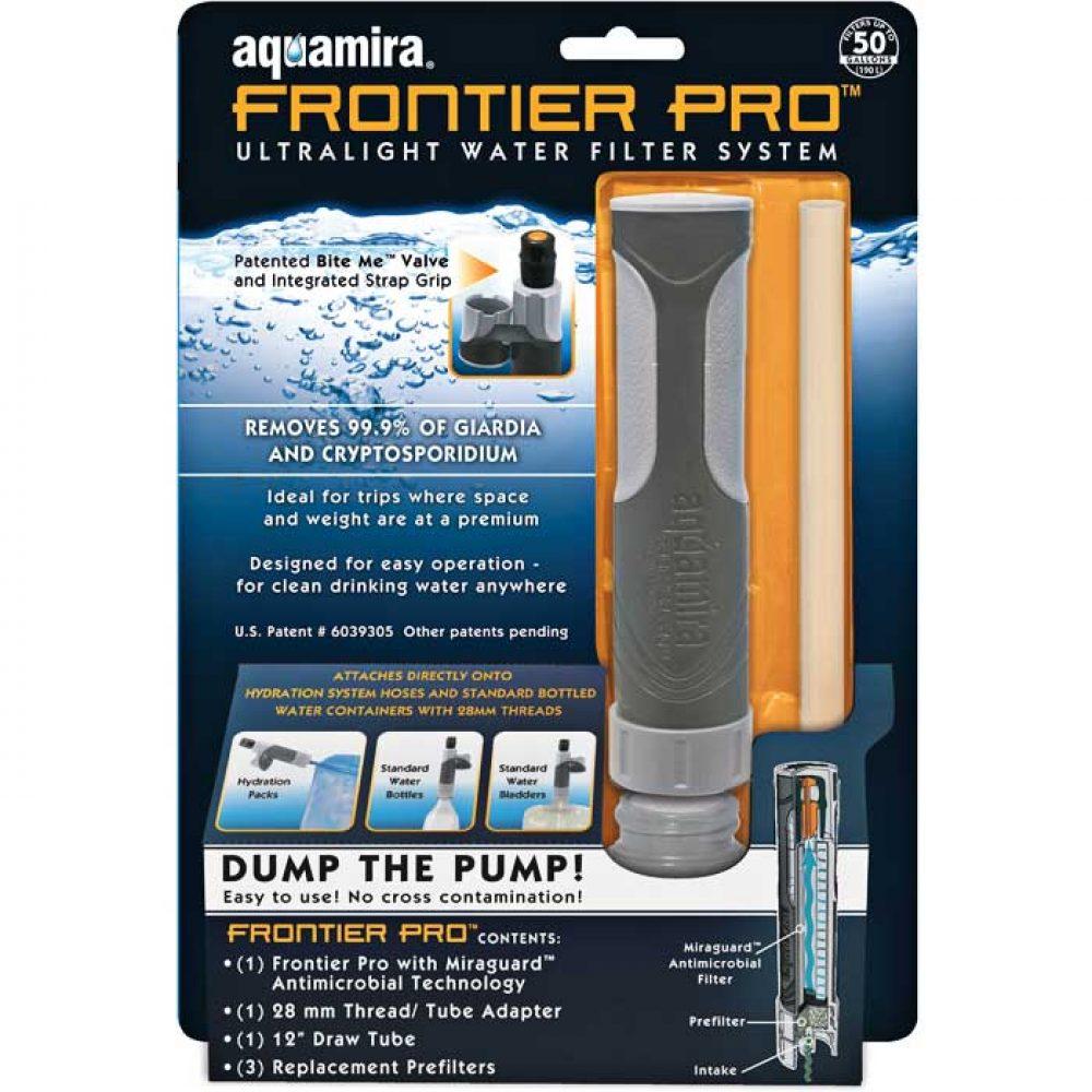 Aquamira Frontier Pro Ultralight Filter